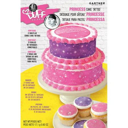 Chef Duff Gartner Studios Princess Cake Tattoo Walmart Com