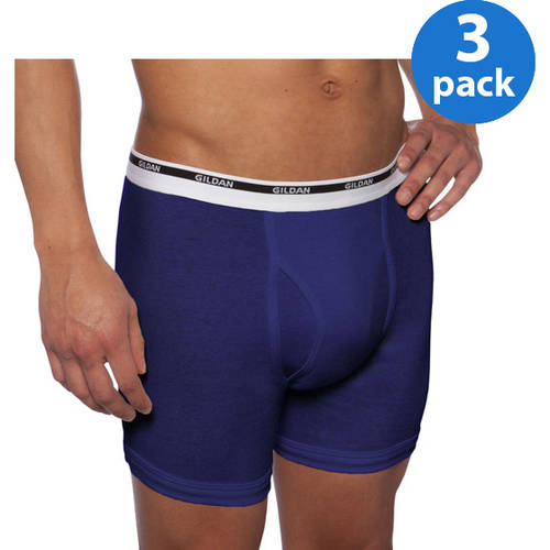 Gildan Big Men's Boxer Brief 3 Pack