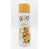 Burt's Bees Gud Natural Body Wash Vanilla Flame 10 Fl Oz.