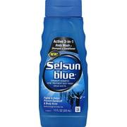 Selsun Blue Active 3-in-1 Dandruff Body Wash + Shampoo + Conditioner, 11oz