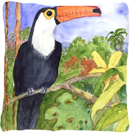 Caroline's Treasures Toucan Indoor/Outdoor Throw Pillow