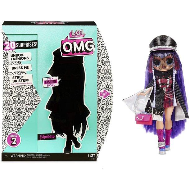 L O L Surprise O M G Shadow Fashion Doll Very Rare Lol Surprise Omg Doll Walmart Com Walmart Com