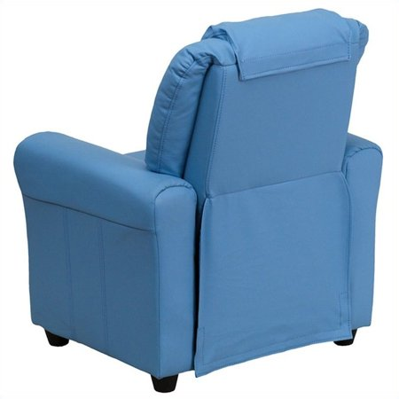 Bowery Hill Kids Recliner in Light Blue - image 2 of 5