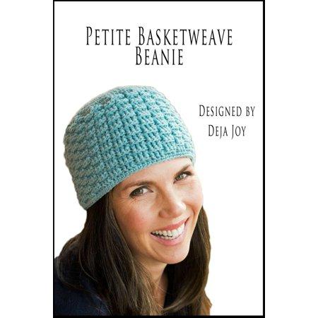 Basketweave Band - Petite Basketweave Beanie - eBook
