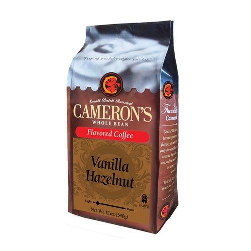 Cameron?s Vanilla Hazelnut Whole Bean Coffee, 12 oz