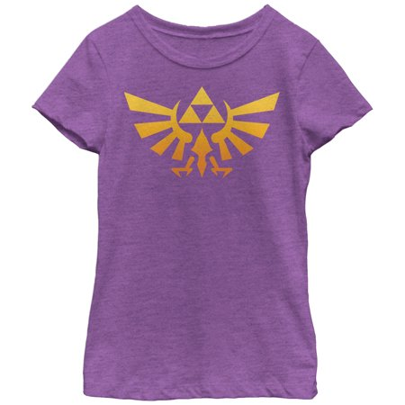 Nintendo Girls' Legend of Zelda Triforce Fade T-Shirt - Hot Zelda Girls