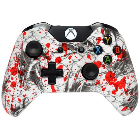 Hydro Dipped Blood Dragon Xbox One Modded Controller for ALL Games,  Including COD Infinite Warfare, by Midnight Modz
