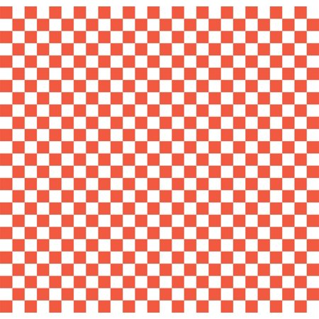Wax Paper Food Basket Liners - Deli/BBQ Sandwich Wrap - Red & White Checkered - 250 12
