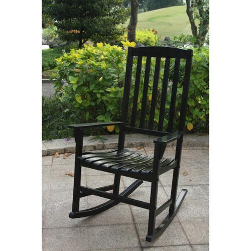 Cambridge Casual  Alston Porch Rocking Chair - Black