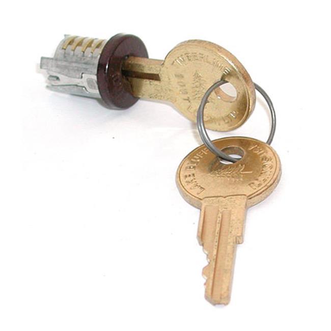 HD TLLP 400 101TA Lock Plugs - Statuary Bronze Keyed Alike, 101
