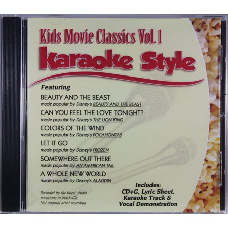 Kids Movie Classics Volume 1 Daywind Christian Karaoke Style NEW CD+G 6 Songs](Kids Friendly Halloween Songs)