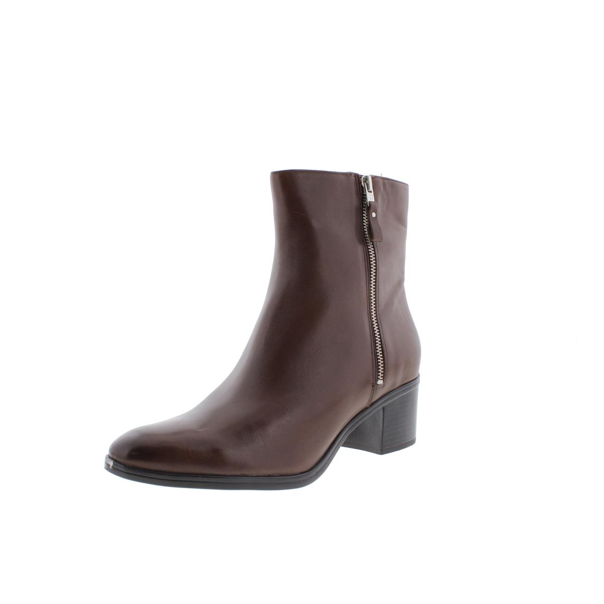 Naturalizer Womens Harding Zipper Heels Ankle Boots by Naturalizer