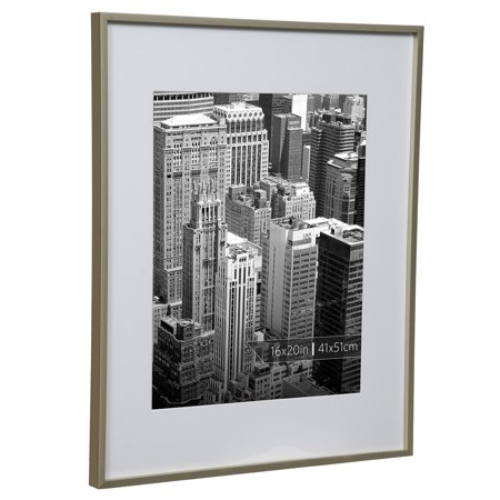 Burnes Of Boston 16x20 Aluminum Gallery Frame In Polished Gold