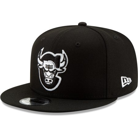 Chicago Bulls New Era Back Half Series 9FIFTY Adjustable Snapback Hat - Black - OSFA Chicago Bulls Court Series