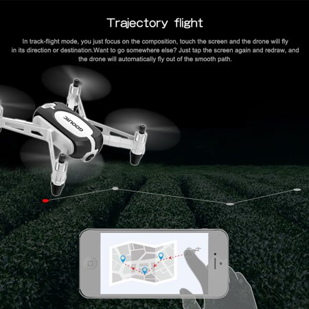 GoolRC T700 720P Wifi FPV Mini Selfie Drone G-Sensor Altitude Hold RC Training Quadcopter w/ 3 Battery for Beginners Kids - image 5 de 7