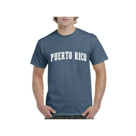 Puerto Rico Flag Men Shirts T-Shirt Tee