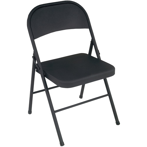 Cosco Steel Folding Chair, Set of 4, Multiple Colors