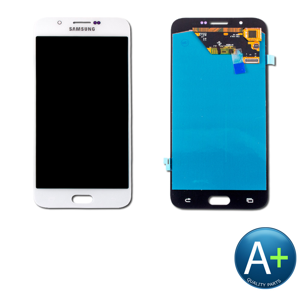 "Touch Screen Digitizer and AMOLED Front Display Assembly for Pearl White Samsung Galaxy A8 SM-A800 (2015) (5.7"")"
