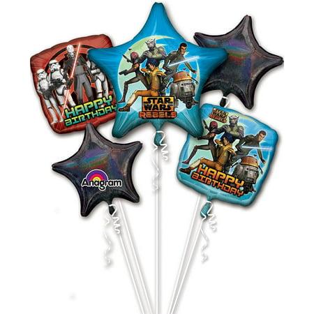 Star Wars Rebels Balloon Bouquet (Each) - Party Supplies](Rebel Party Rentals)