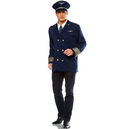 Adult Pilot Costume (Pilot Adult Costume)