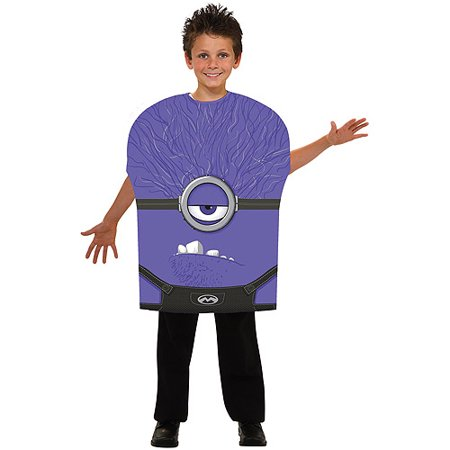 Minions Kids Costume (Purple Minion Child Halloween)