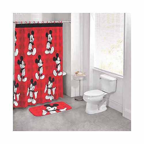 Disney Mickey Mouse 14 Piece Bath Set Walmart Com