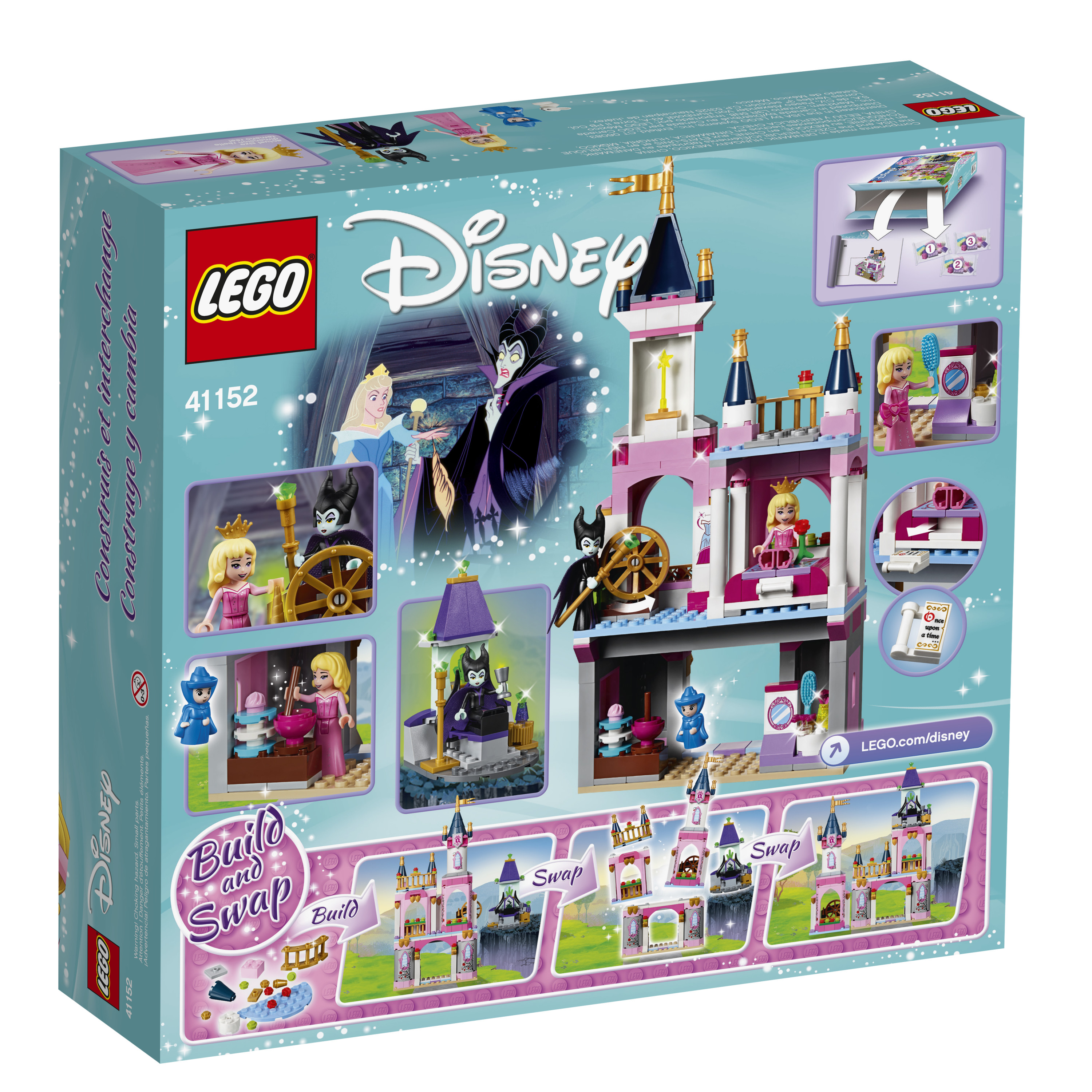 LEGO Disney Princess Sleeping Beauty's Fairytale Castle 41152