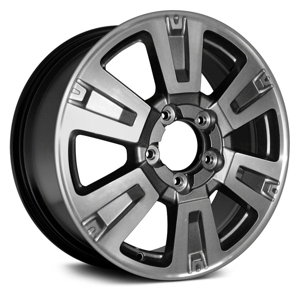 20 Inch Aluminum Oem Take Off Wheel Rim For Toyota Tundra 14 19 5 Lug Black Walmart Com Walmart Com