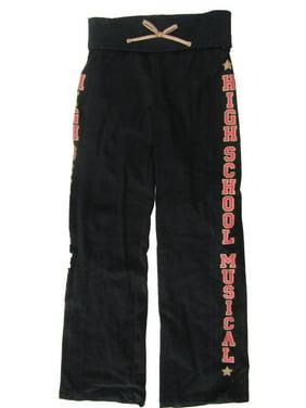 Disney Girls Black High School Musical Sweatpants