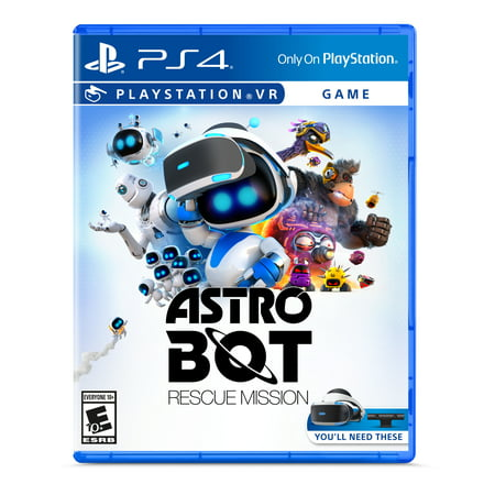 ASTRO BOT: Rescue Mission VR, Sony, PlayStation PS4 VR, (Gta 4 Best Mission)