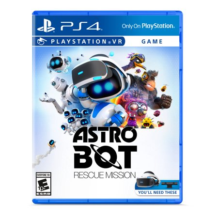 ASTRO BOT: Rescue Mission VR, Sony, PlayStation PS4 VR, 711719520900