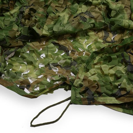 Ejoyous 2 x 3 Meters Camouflage Net Military Hunting Shooting Hide Army Camo Netting, camo netting, camouflage netting - image 8 de 9