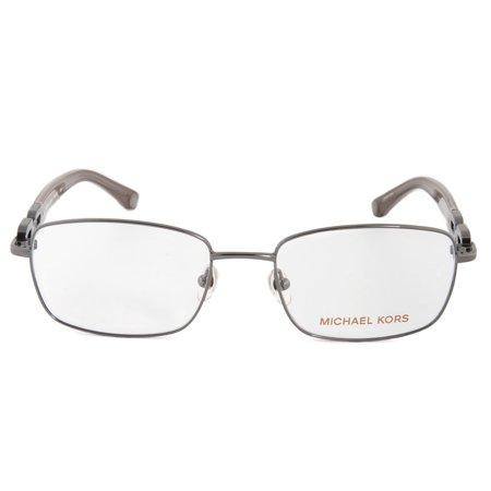 Michael Kors MK365 34 Rectangular   Gunmetal  Eyeglass Frames ...