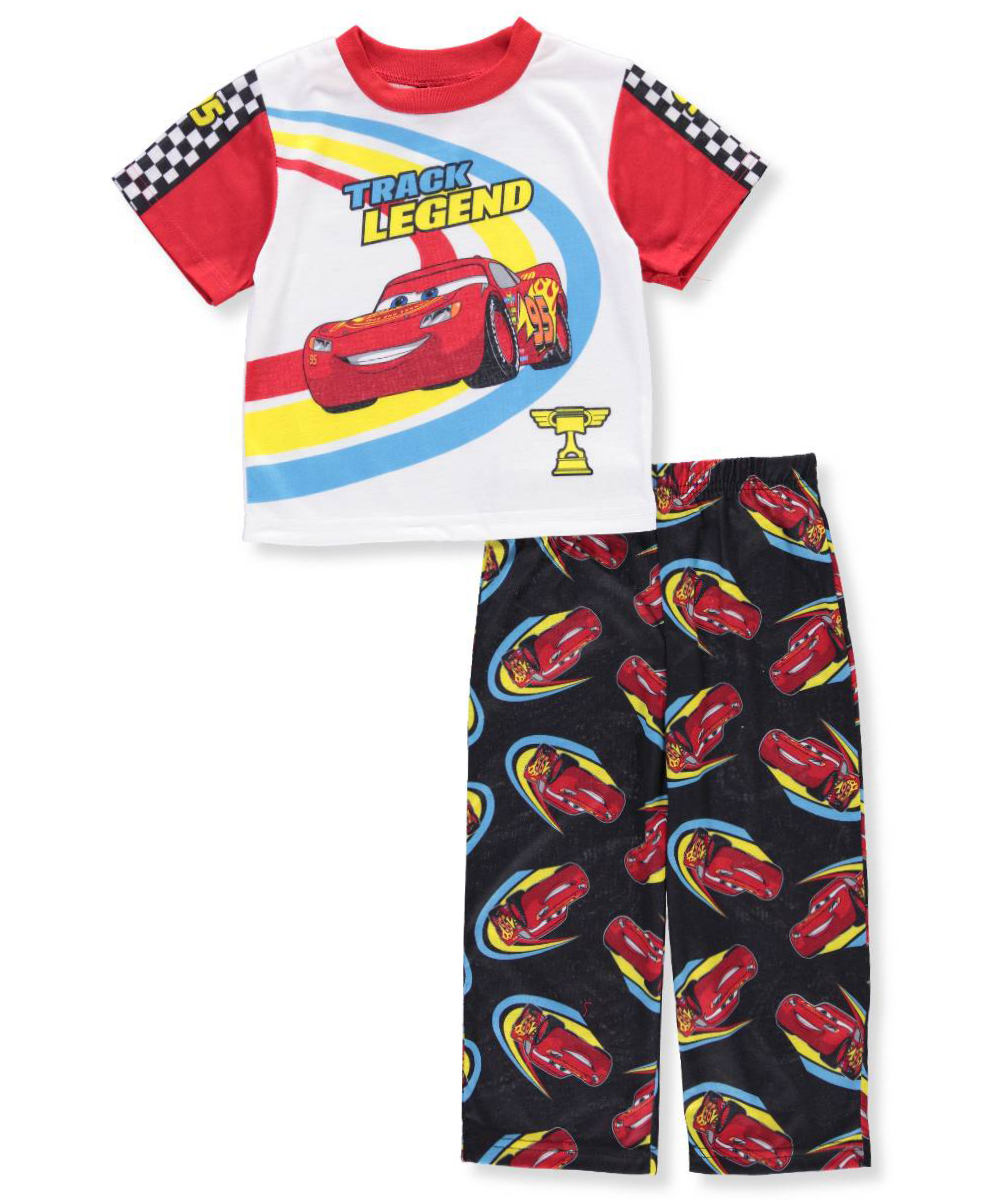 Short Sleeve Poly Pajamas, 2-piece Set (Toddler Boys)