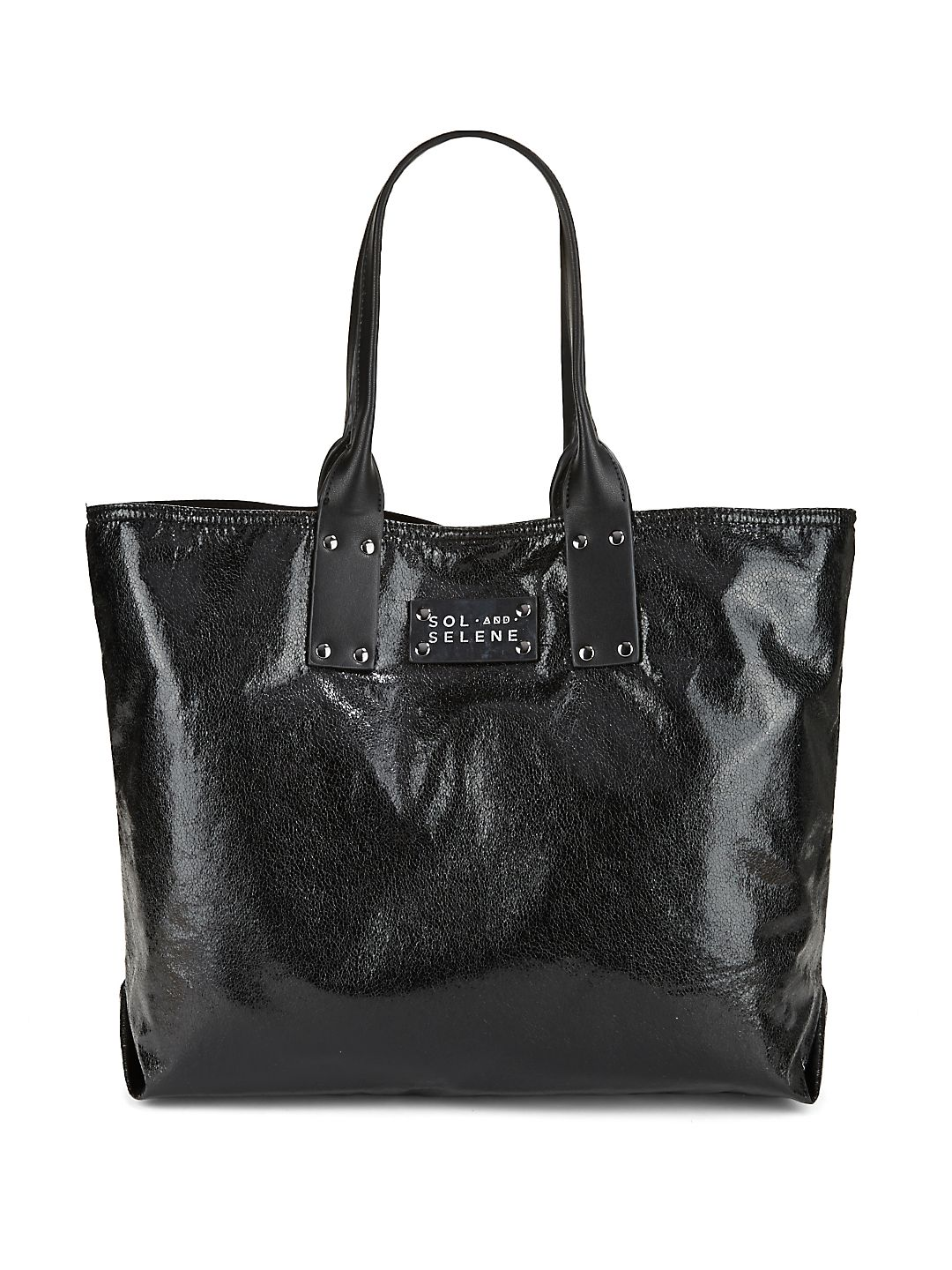 It Girl Glossy Tote