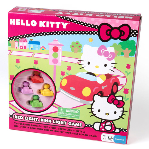 Pressman Toy Hello Kitty Red Light, Pink Light Game