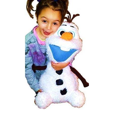 NEW Disney Frozen II. Fluffy & Soft Large Olaf Snowman 22
