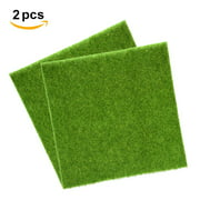 Rdeghly Synthetic Turf,2 Sizes Synthetic Artificial Grass Mat Turf Lawn Garden Micro Landscape Ornament Home Decor, Synthetic Lawn