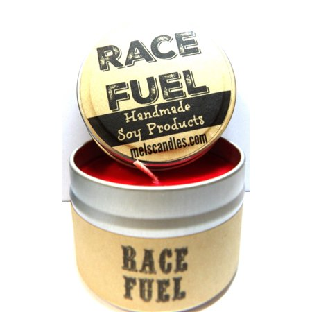 Red Hot Cinnamon Soy Candle (Race Fuel ? ( Great for Racers) 4oz Candle Tin - Handmade Soy Candle MADE In USA )