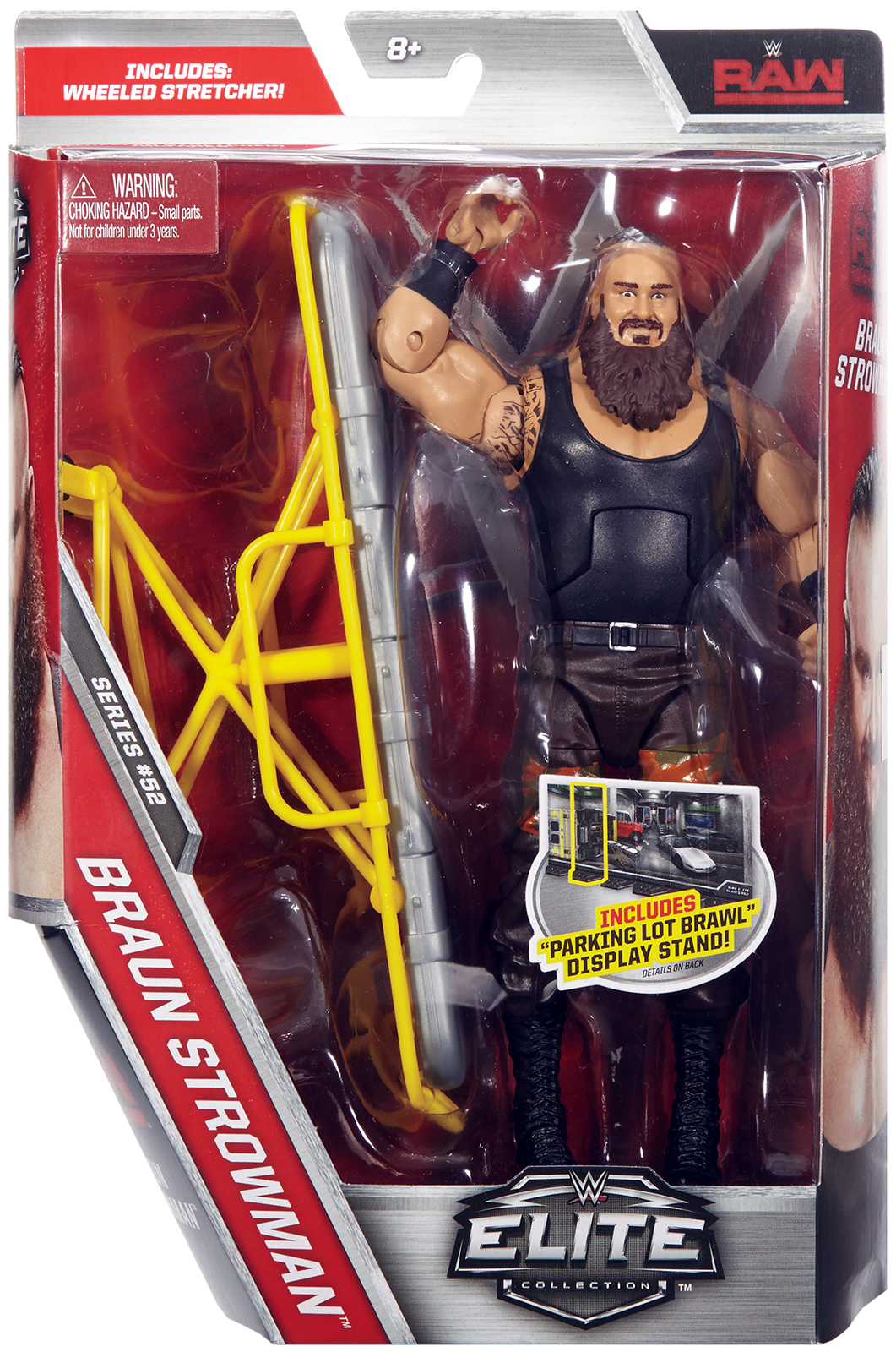 Braun Strowman WWE Elite 52 Toy Wrestling Action Figure by Mattel
