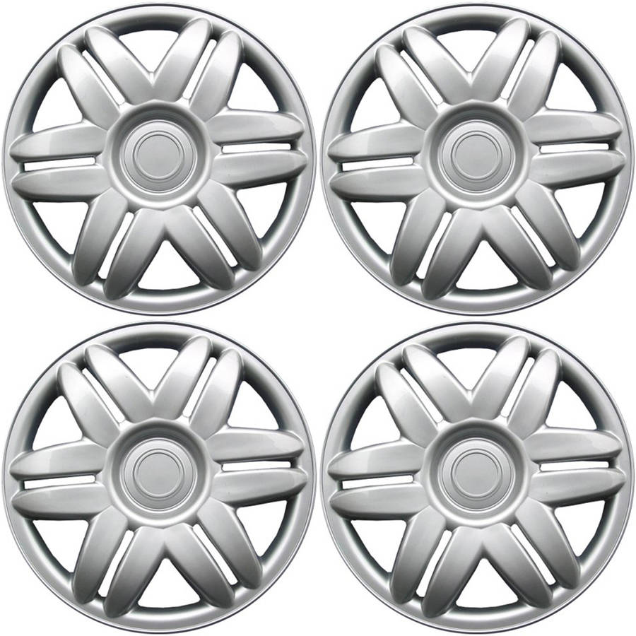 "4 Piece Set A/M Silver ABS Fits 2000 2001 TOYOTA CAMRY 15"" Wheel Cover Hub Caps"