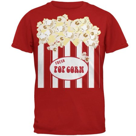 Halloween Popcorn Costume Mens T Shirt