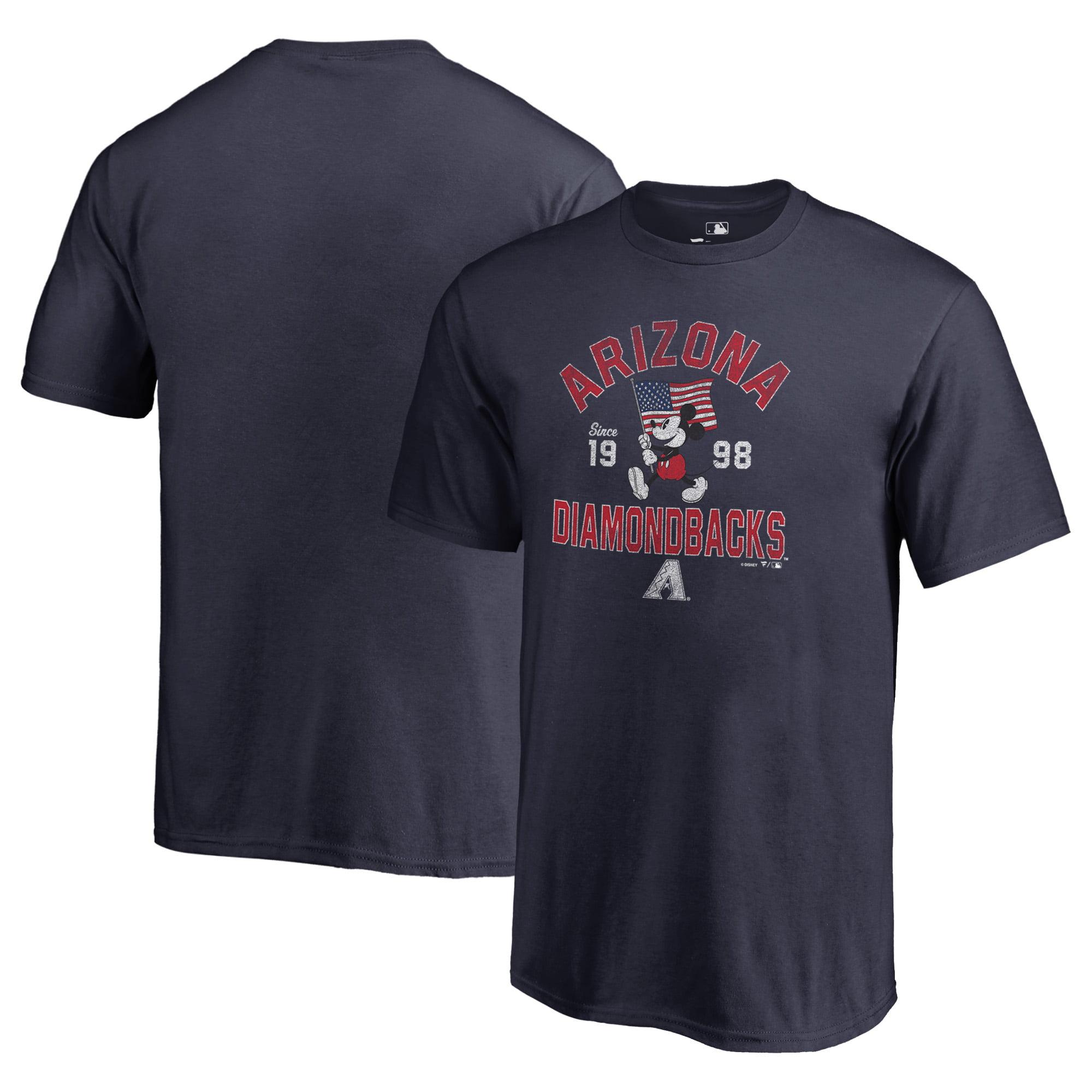 Arizona Diamondbacks Fanatics Branded Youth Disney American Icon T-Shirt - Navy