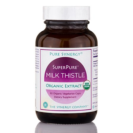 Superpure Milk Thistle Extract   60 Vegetarian Capsules By The Synergy Company