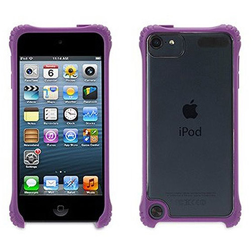 Griffin Purple Survivor Core, Clear Protective Casefor iPod touch (5th/ 6th gen.), See-through protection.  Extra tough at the corners.