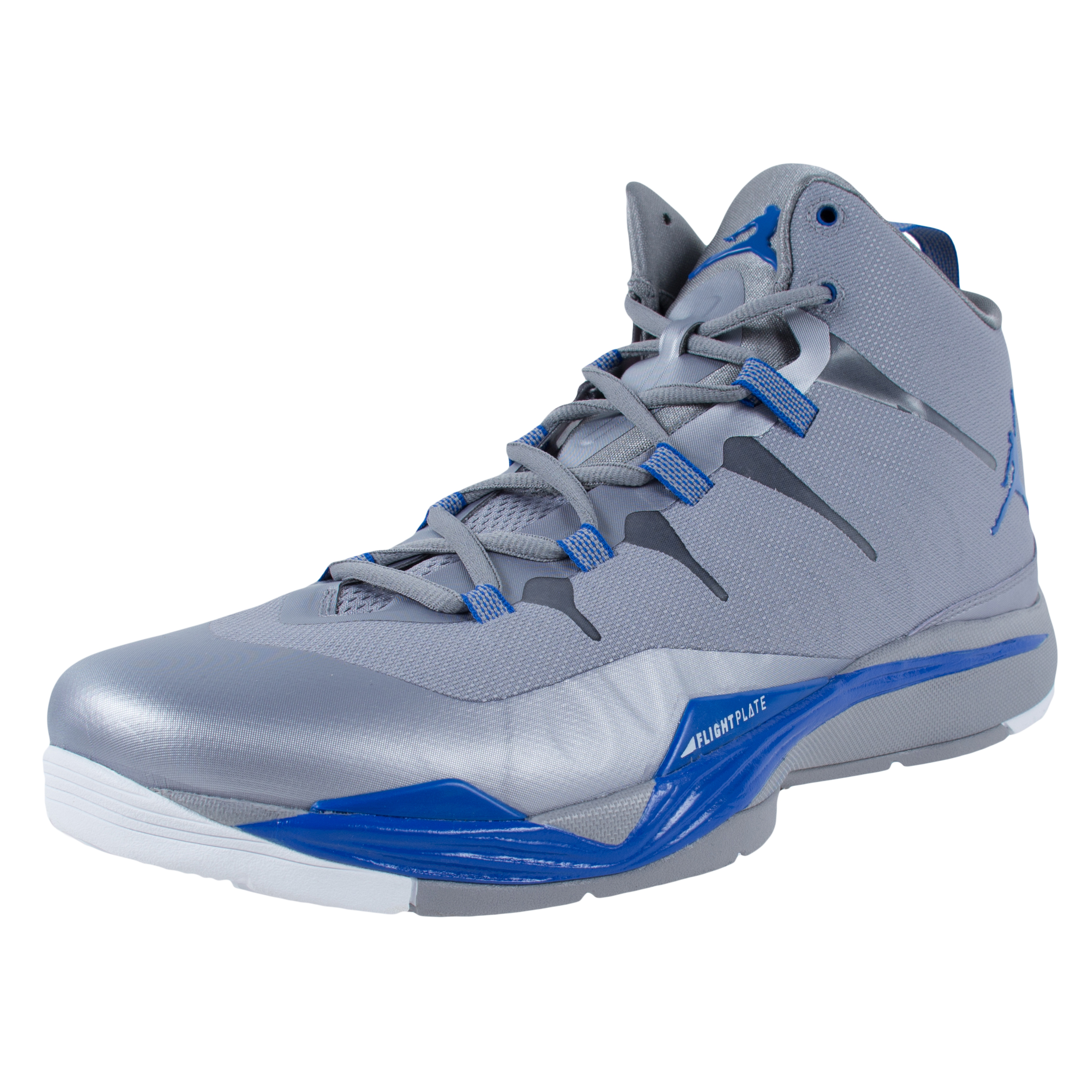 NIKE JORDAN SUPER.FLY 2 BASKETBALL SHOES CEMENT GREY BLUE 599945 007 SIZE  13 - Walmart.com