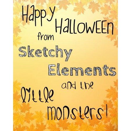 Happy Halloween from Sketchy Elements and the Little Monsters](Futuristic Element Costume)