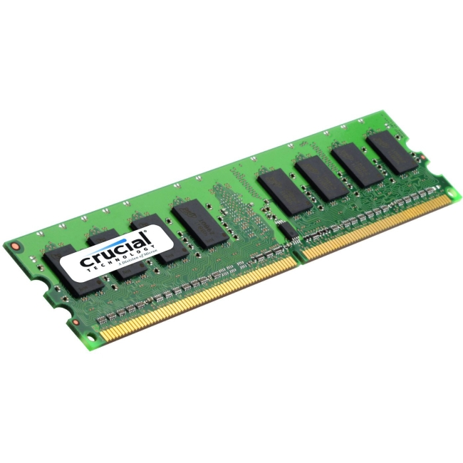 Crucial 4GB DDR3-1600 CL11 Unbuffered Non-ECC 1.35V 512Megx64 UDIMM Module