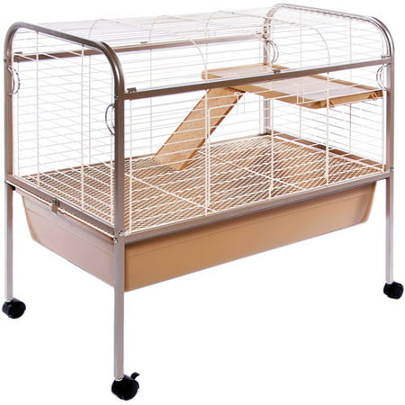 Prevue Pet Products Small Animal Cage with Stand, Coco](Canoe Stand)