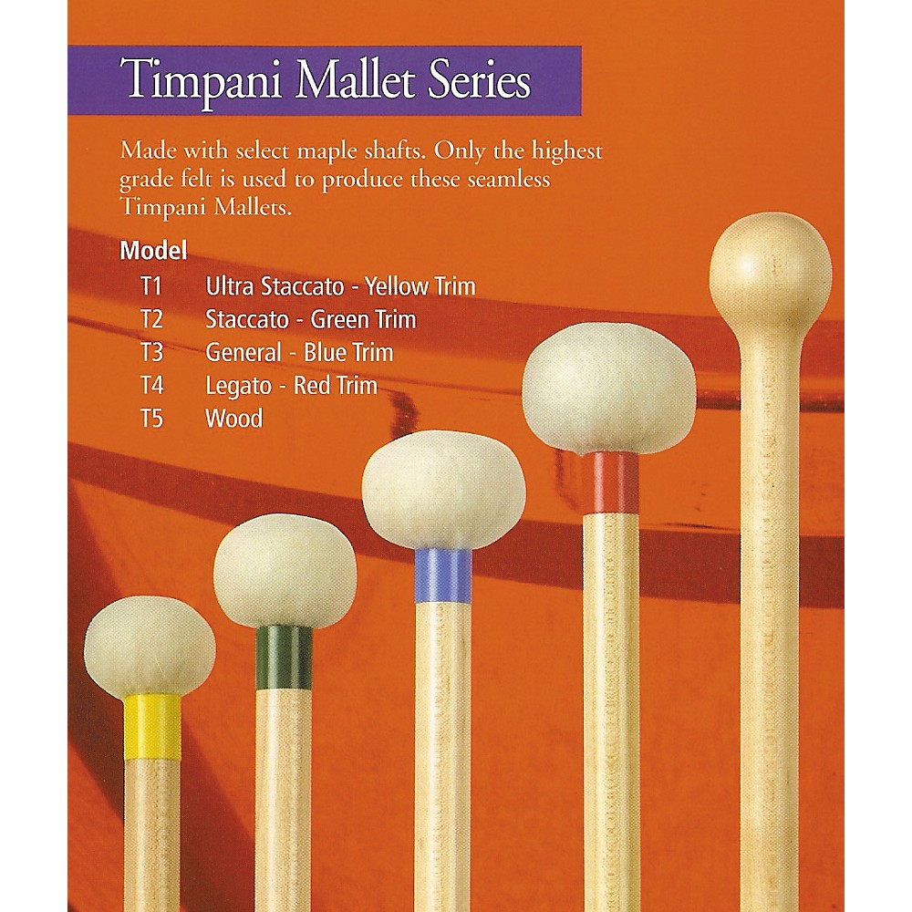 Mike Balter Timpani Mallets T2 Staccatto by Mike Balter